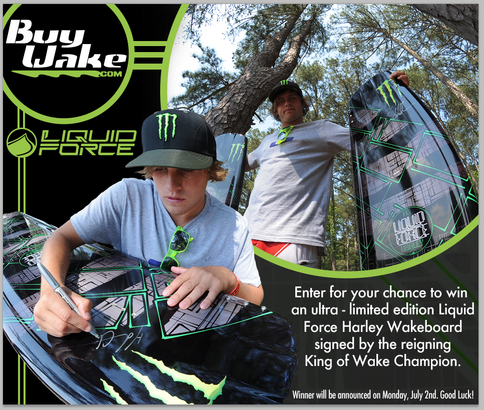 Harley Clifford's Wakeboard