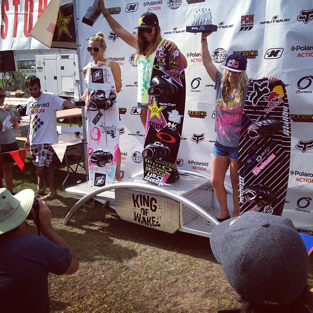 Pro Women's Podium | Nautique Wake Games