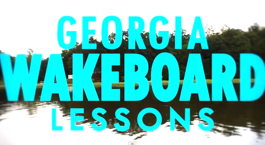 Georgia Wakeboard Lessons