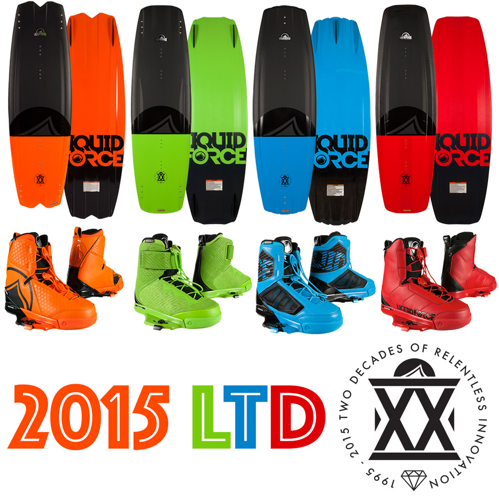 2015 Liquid Force LTD's