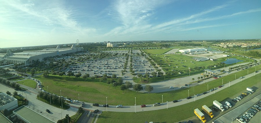 Hotel View of Surf Expo