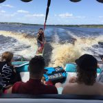 Wakesurfing in Clearmont
