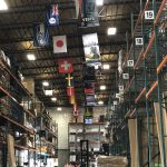 Warehouse flags