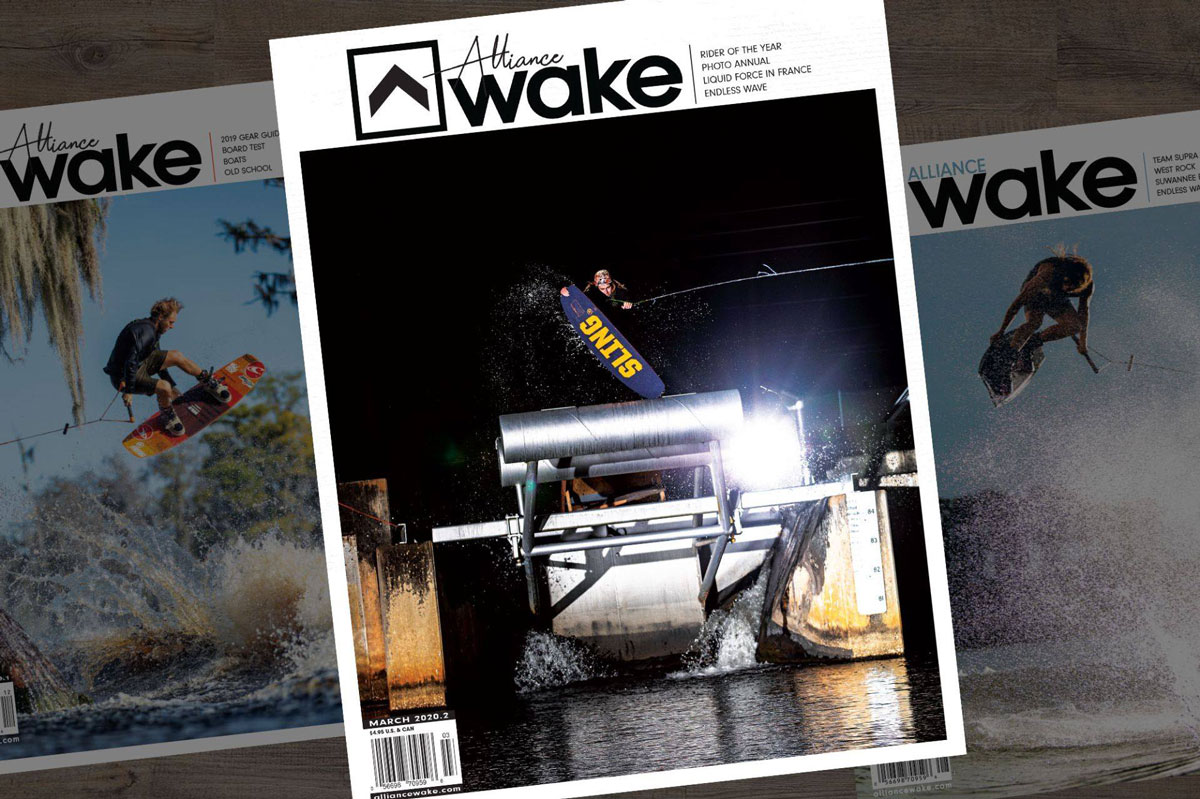 Blake Bishop Gets the Alliance Wake Photo Annual Cover