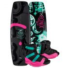 "Ronix 2019 Quarter 'Til Midnight ""SF"" w/ Halo Women's Wakeboard & Bindings Package"