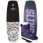 Slingshot 2021 Valley w/ Jewel Women's Wakeboard & Bindings Package