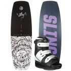 Slingshot 2021 Valley w/ Option Women's Wakeboard & Bindings Package