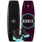 Ronix 2020 Quarter 'Til Midnight w/ Halo Women's Wakeboard & Bindings Package