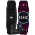 Ronix 2021 Quarter 'Til Midnight w/ Signature Women's Wakeboard & Bindings Package