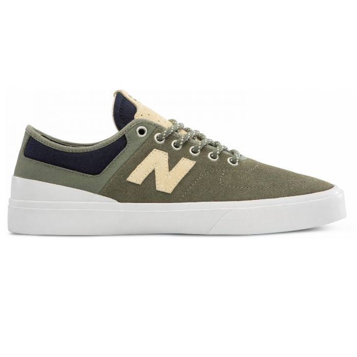 5dc9aa7a25858 New Balance Numeric 379 (Green/White) Men's Skate Shoes