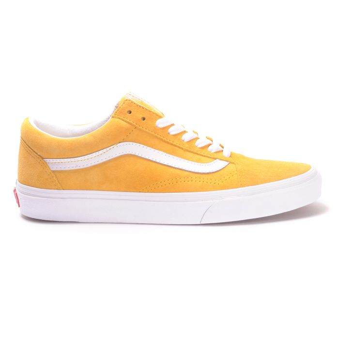 vans old skool suede sneakers in tan