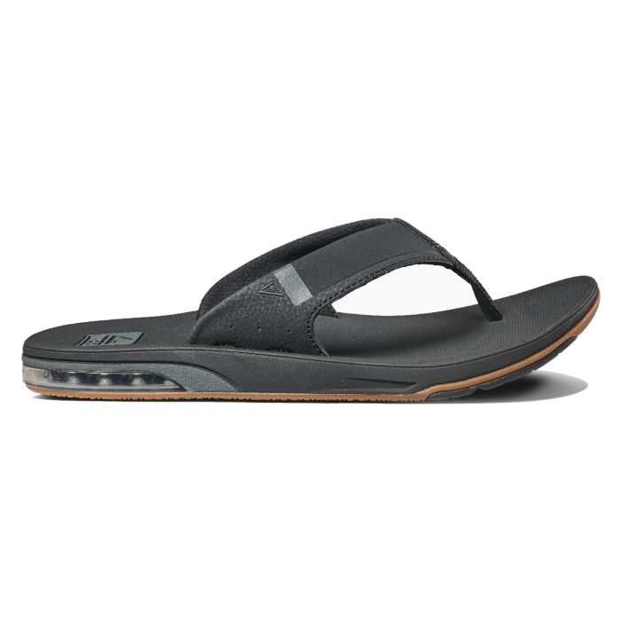 timeless design new york cheap prices Reef Fanning Low (Black) Men's Sandals