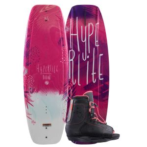 Hyperlite 2019 Divine Jr. w/ Jinx Kid's Wakeboard & Bindings Package