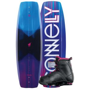Connelly 2019 Wild Child 136 w/ Ember Women's Wakeboard & Bindings Package