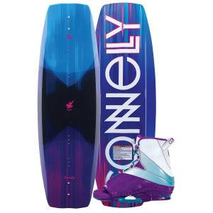 Connelly 2019 Wild Child 136 w/ Karma Women's Wakeboard & Bindings Package