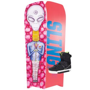 Slingshot 2020 Space Mob w/ KTV Wakeboard & Bindings Package