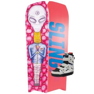 Slingshot 2020 Space Mob w/ Space Mob Wakeboard & Bindings Package