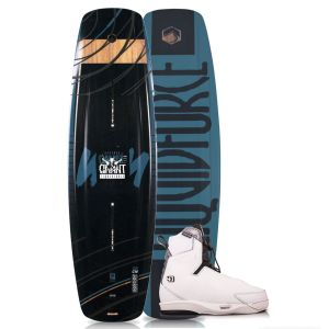 Liquid Force 2019 Eclipse 150 w/ 4D Tao Wakeboard & Bindings Package