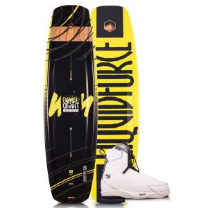 Liquid Force 2019 Eclipse 155 w/ 4D Tao Wakeboard & Bindings Package
