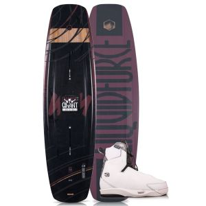 Liquid Force 2019 Eclipse 160 w/ 4D Tao Wakeboard & Bindings Package