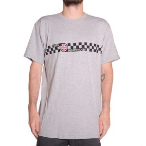 66e6687350 Vans x Independent Checkerboard (Athletic Heather) T-Shirt
