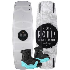 Ronix 2020 Signature w/ Halo Women's Wakeboard & Bindings Package