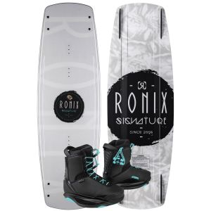 Ronix 2020 Signature w/ Signature Women's Wakeboard & Bindings Package