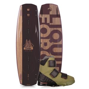 Liquid Force 2019 Timba 140 w/ Vantage Wakeboard & Bindings Package