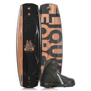 Liquid Force 2019 Timba 144 w/ Classic Wakeboard & Bindings Package