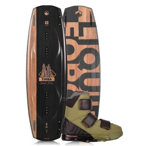 Liquid Force 2019 Timba 144 w/ Vantage Wakeboard & Bindings Package