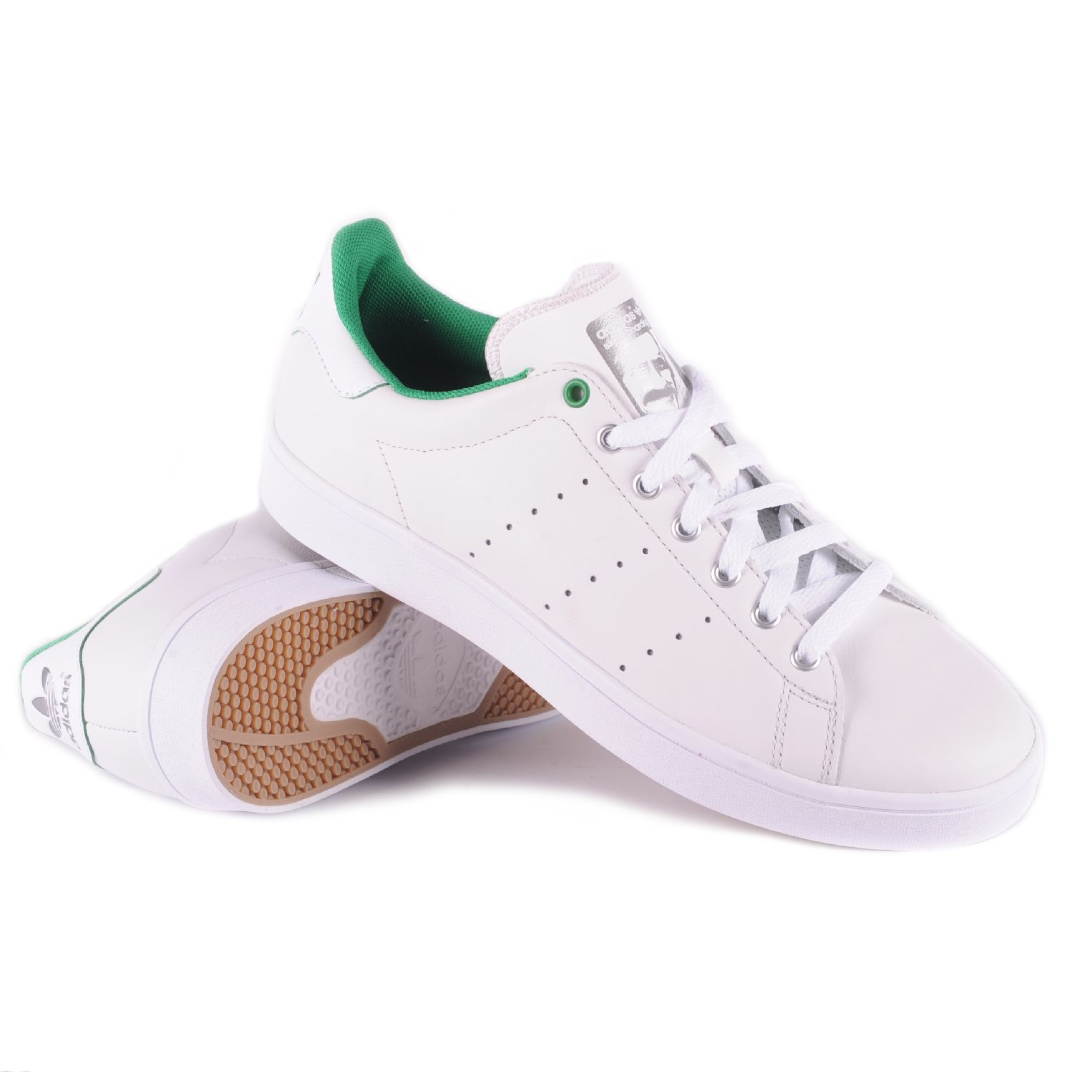 the latest 587d6 014b6 Adidas Stan Smith Vulc (Vintage White/Green/White) Men's ...