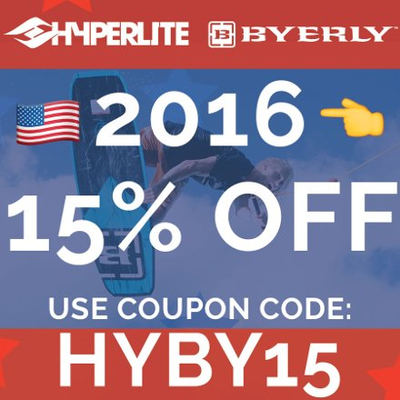 Hyperlite/Byerly Memorial Day Sale 2016 | Save 15%